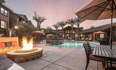 Pool, One North Scottsdale, 0