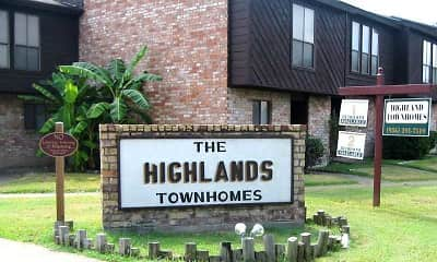 Community Signage, The Highland Townhomes, 0