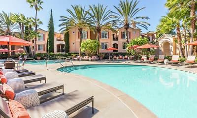 Pool, Torrey Villas, 1