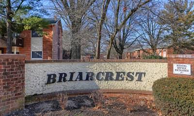 Community Signage, Briarcrest Gardens, 2