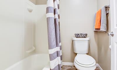 Bathroom, Town's Edge Apartments, 2