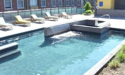 Pool, Southern Stove Lofts, 1