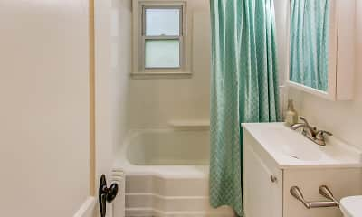 Bathroom, Schuyler Place Apartments, 2