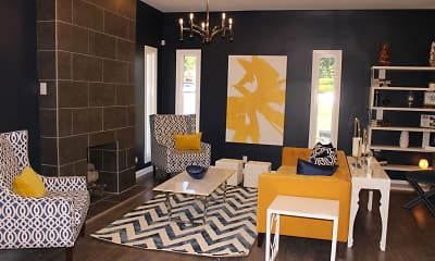 Living Room, The Park at Forestdale, 1