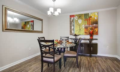 Dining Room, Emerald Pointe, 1