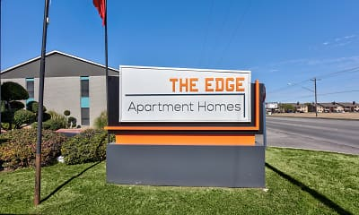 Community Signage, The Edge, 2