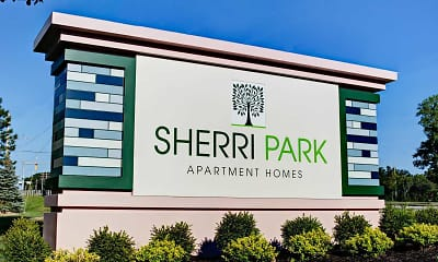 Community Signage, Sherri Park Apartments, 0