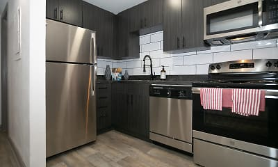 Kitchen, The Canvas Apartments, 1