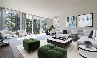 Living Room, Park Avenue, 1