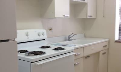 Kitchen, Castletone Apartments, 1