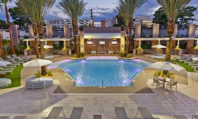 Pool, Vegas Towers, 1
