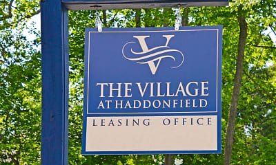Community Signage, The Village At Haddonfield, 2