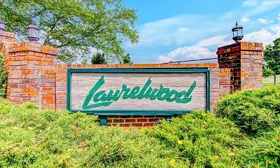 Community Signage, Laurelwood, 2