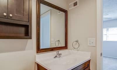 Bathroom, Imperial Gardens Apartments, 2