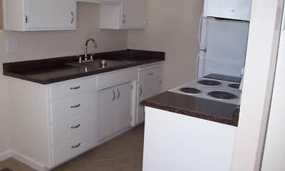 Kitchen, Pennsylvania Place Apartments, 1