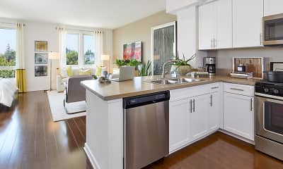 Kitchen, River View, 0