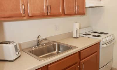 Kitchen, Barkley Gardens Apartments, 1