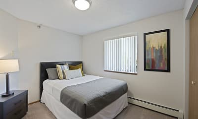 Bedroom, Northpointe Apartments, 1