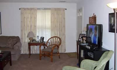 Living Room, Briar Park Apartments, 2