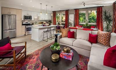 Living Room, Santa Clara Square, 0
