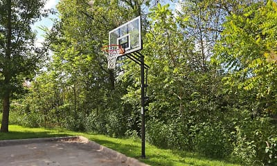 Basketball Court, Pomeroy Place Apartments, 1