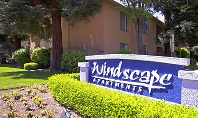 Community Signage, Windscape Apartments, 0