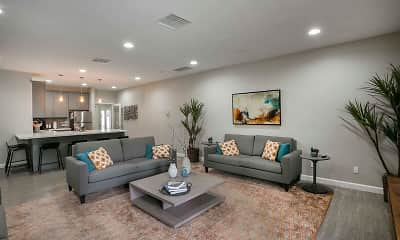 Living Room, Redlands Park Apartments, 0