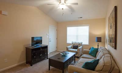 Living Room, Family Lodge Apartments, 1