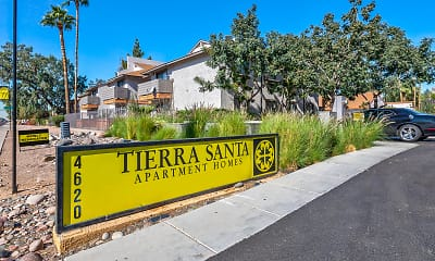 Community Signage, Tierra Santa, 2