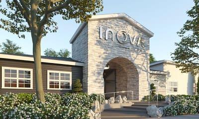 Community Signage, Inova Luxury Apartments at the Summit, 2