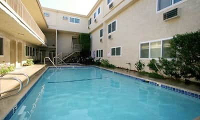 Pool, Esplanade Apartments, 0