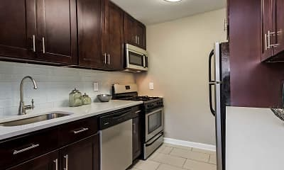 Kitchen, Metropark Station Apartments, 1