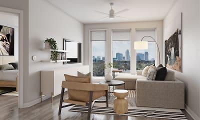 Living Room, Alta at Health Village Apartments, 0