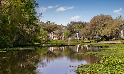 Lake, Riverbank Apartment Homes, 1
