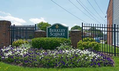 Community Signage, Berkley Square, 2