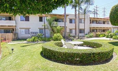 Courtyard, San Carlos, 1