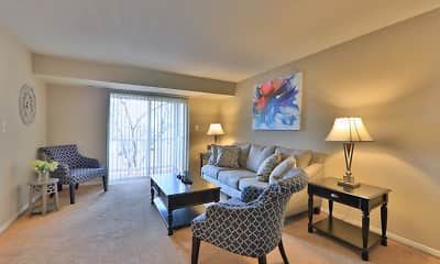 Living Room, Willowood Apartment Homes, 1