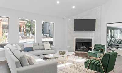 Living Room, Emerald Place, 1