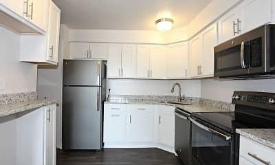 Kitchen, Linden House West, 1