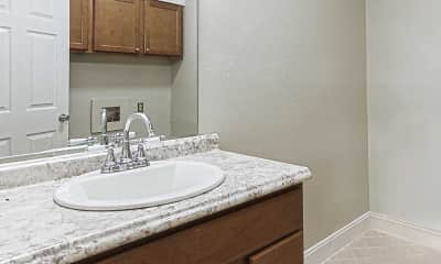 Bathroom, Carriage Place Condominiums, 2