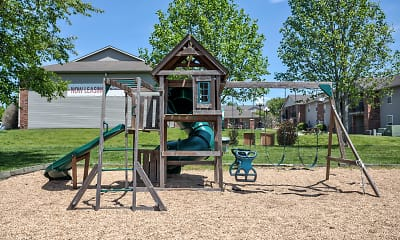 Playground, Excelsior Gardens Apartments, 1