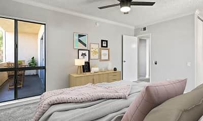 Bedroom, Chandler Circle Apartments, 1