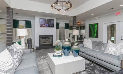 Living Room, The Columns at Lake Ridge, 1
