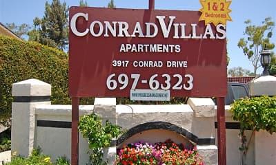 Community Signage, Conrad Villas, 0