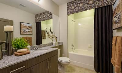 Bathroom, The Heights At Meridian, 2