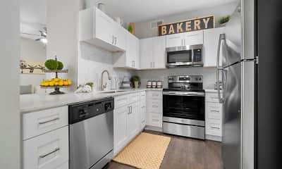 Kitchen, Flatiron District at Austin Ranch, 0