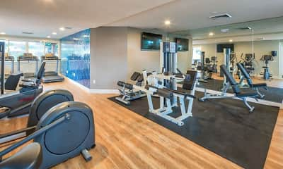 Fitness Weight Room, Oasis Townhomes, 2