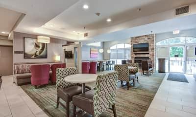 Clubhouse, Residence Inn Apartments Tewksbury, 1
