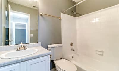 Bathroom, Camelia Apartments, 2