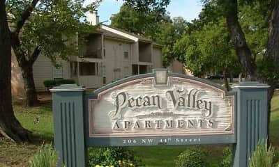 Community Signage, Pecan Valley Apartments, 0
